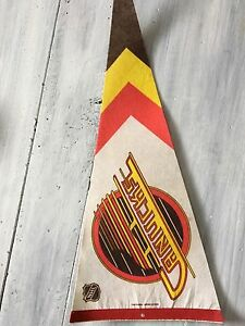 Vintage 70s Vancouver Canucks Pennant