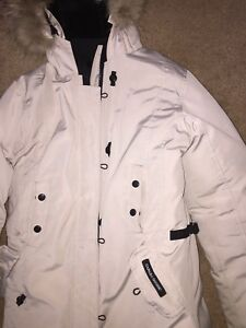 Woman's large Canada goose parka