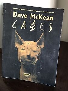 Cages Graphic Novel Dave McKean East Cannington Canning Area Preview