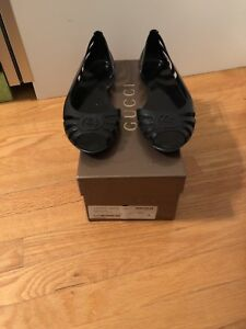 Gucci Jelly Flats size 7