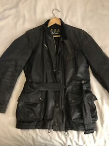 Men's Barbour Waxed Jacket Size Small