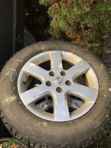 Mags Nissan 5x114.3 16inch with winter tires