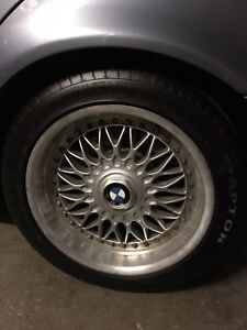 BMW wheels/rims BBS RC 090 235 45ZR 17's