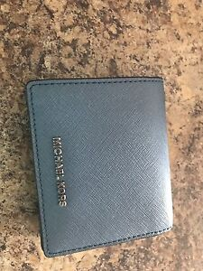 Michael Kors wallet pale blue brand new never used
