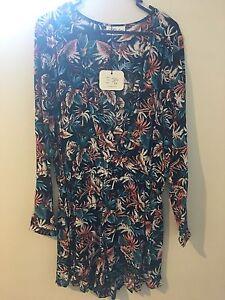 Long Sleeve Floral JumpSuit -Size 12. Unworn! New! Hamersley Stirling Area Preview