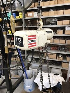 1/2 Ton Coffing Electric Chain Hoist
