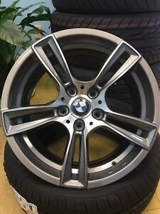 "New mags 17"" 5x120, Gun metal. BMW fitment"