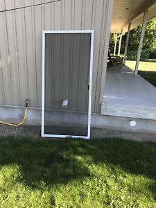 Sliding patio screen door
