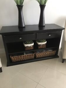 Pottery Barn Buffet with Antique Black finish.