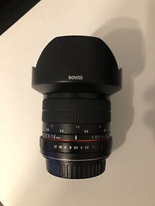 CANON 14mm f2.8 EF mount
