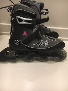 K2 woman's rollerblades like new 8.5