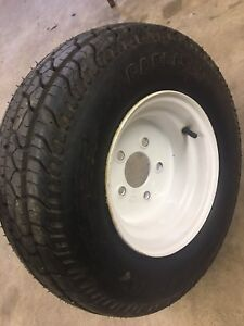 Unused Snowmobile trailer Spare Tire Assembly 20.5 8 10