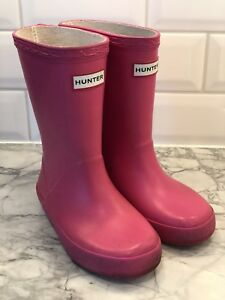 Hunter Boots Toddler Size 9