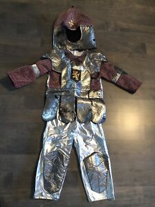 Boys 3 piece knight costume 3-4 T - $10