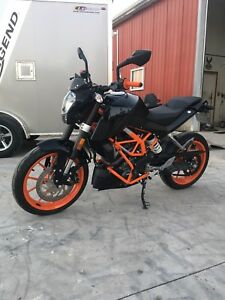 2016 KTM DUKE 390 with abs