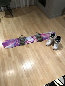 Ride snowboard, Ride Bindings and Ride Boots!