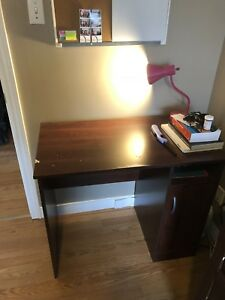 Desk and office chair $60