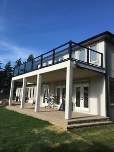 ~ Aluminum ~ Glass Railings ~~ Supply & Install