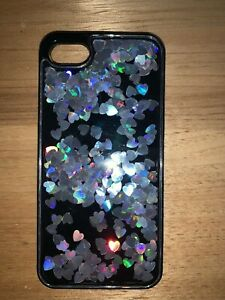 holographic scatter heart iphone 7 case - velvet caviar Bradbury Campbelltown Area Preview