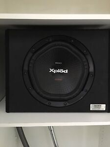 Sony Xplod 1800w Subwoofer Bakewell Palmerston Area Preview
