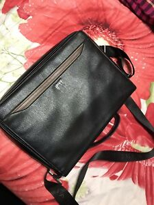 """Leather Laptop Bag ( 15-17"""" ) ( Like New )"""