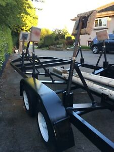 28 FOOT BOAT TRAILER FOR POWER OR SAILBOAT