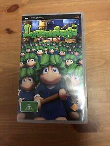 Psp game- Lemmings
