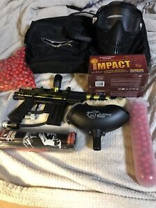 JT Stealth paintball gun and some accessories