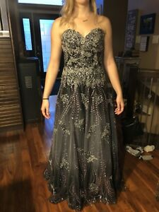 Jovani size 4 grad dress