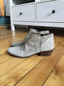 Beautiful suede Sam Edelman booties — size 8/39