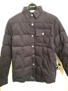 Wings and Horns - ventile quilted down shirt - size small