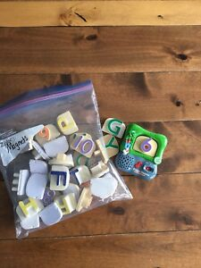 Leap frog magnetic numbers/letters