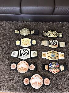 WWE Title Belts Barden Ridge Sutherland Area Preview