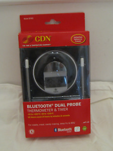 CDN Bluetooth Dual Probe Meat Thermometer & Timer- New