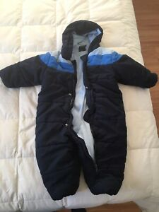 1 piece snowsuit- 24 months