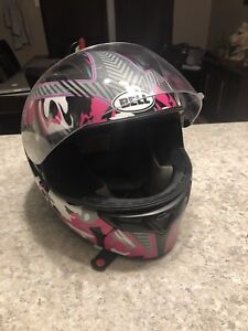 BELL WOMENS MOTORCYCLE HELMET