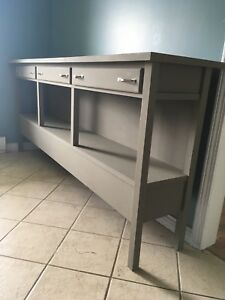 Large Refinished Buffet/TV Stand Etc..