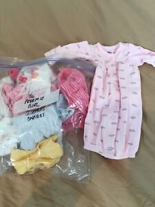 Preemie one suits (girls)