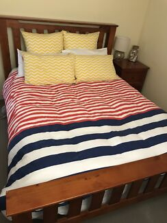 Bedroom Suite - Queen Bed, Talbot and 2 x Bedside Tables