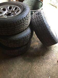 2006 Silverado rims and tires