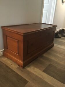 Solid wood chest/ Hope chest