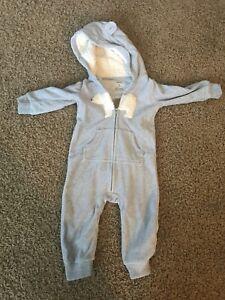 Warm one piece suits size 6-12 months lot