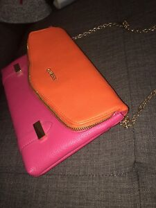 Guess Pink and Gold  Purse