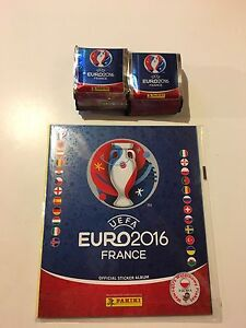 Euro 2016 Stickers +Album