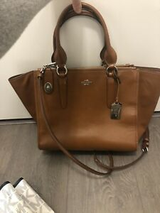 Coach Tote with crossbody, leather