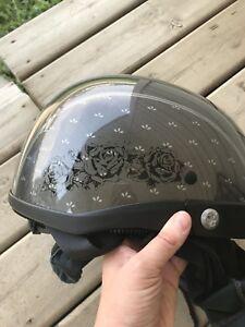 Ladies motorcycle helmet, EUC