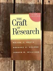 The Craft of Research Textbook