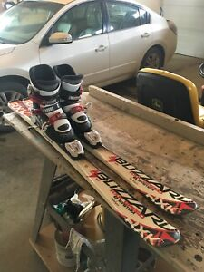 2 sets of Skis & boots!