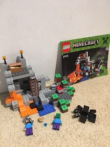 MINECRAFT lego the cave 249 pieces