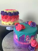 Top cake and cupcakes, more than just a cake!